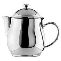 Oneida 87504801A Jazz 10 oz. 18/10 Stainless Steel Short Spout Teapot