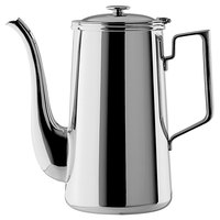 Oneida J0010661A Noblesse 64 oz. 18/10 Stainless Steel Coffee Pot