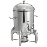 Oneida J0850003 Staccato 3 Gallon 18/10 Stainless Steel Insulated Coffee Urn with Hammered Finish