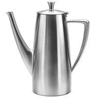 Oneida 88000671A Stiletto 68 oz. 18/10 Brushed Stainless Steel Long Spout Coffee Pot