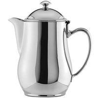 Oneida 87500611A Jazz 20 oz. 18/10 Stainless Steel Short Spout Coffee Pot