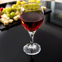 Libbey 3957 Teardrop 10.75 oz. Customizable All Purpose Wine Glass - 36/Case