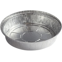 Choice 9 inch Round Heavy Weight Foil Take-Out Pan   - 500/Case
