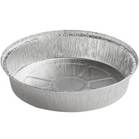 Choice 9 inch Round Standard Weight Foil Take-Out Pan   - 500/Case