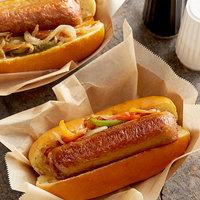 Beyond Meat 3.5 oz. Plant-Based Vegan Sweet Mild Italian Bratwurst Sausage - 50/Case