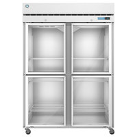 Hoshizaki F2A-HG 55 inch Half Glass Door Reach-In Freezer