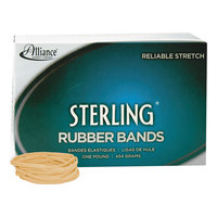 Alliance 24325 Sterling 3 inch x 1/8 inch Crepe #32 Rubber Bands, 12 lb. - 950/Box