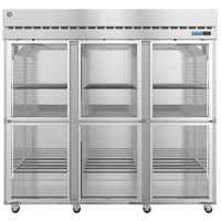 Hoshizaki R3A-HG 82 1/2 inch Half Glass Door Reach-In Refrigerator