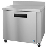Hoshizaki WR36A-01 36 inch One Door Worktop Refrigerator with Lock