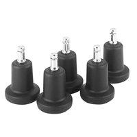 Master Caster 70175 B Stem High Profile Bell Glides - 5/Set