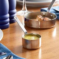 Vollrath 59777 2 oz. Round Mini Stainless Steel Sauce Pan