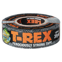 T-Rex 240998 1 7/8 inch x 35 Yards Silver Duct Tape Roll
