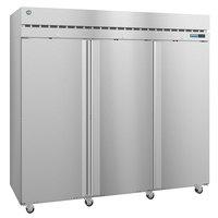 Hoshizaki R3A-FS 82 1/2 inch Solid Door Reach-In Refrigerator