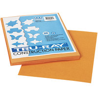 Pacon 103023 Tru-Ray 9 inch x 12 inch Tan Pack of 76# Construction Paper - 50 Sheets