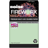 Boise MP2207GN Fireworx 11 inch x 17 inch Popper-Mint Green Premium Ream of 20# Multi-Use Paper - 500 Sheets