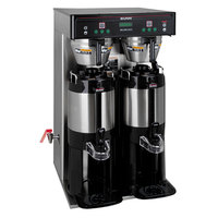 Bunn 37600.0011 BrewWISE ICB-TWIN Tall Dual Infusion Series Coffee Brewer with Side Faucet - 120/240V, 6000W