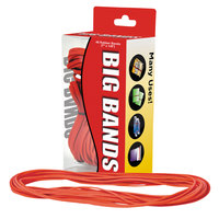 Alliance 00699 7 inch x 1/8 inch Red #117B Rubber Bands, 12 lb. - 48/Box