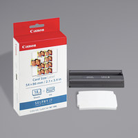 Canon 7740A001 Black / Tri Color Ink Cartridge and Label Combo Pack