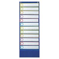 Carson Dellosa 158031 Deluxe Scheduling Pocket Chart