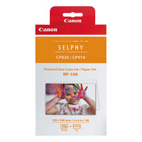 Canon 8568B001 RP-108 Tri-Color Ink Cartridge and Paper Combo Pack