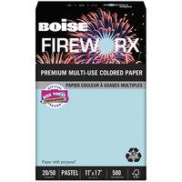 Boise MP2207BE Fireworx 11 inch x 17 inch Bottle Rocket Blue Premium Ream of 20# Multi-Use Paper - 500 Sheets