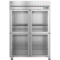 Hoshizaki R2A-HG 55 inch Half Glass Door Reach-In Refrigerator