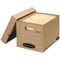 Banker's Box 7150001 13 inch x 16 1/4 inch x 12 inch Kraft Letter / Legal Filing Box   - 12/Case