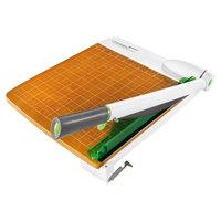 Westcott 16874 CarboTitanium 15 inch Metal / Wood 30 Sheet Guillotine Paper Trimmer