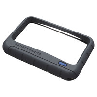 Bausch & Lomb 628006 4 inch x 2 inch Rectangular Handheld LED Magnifier