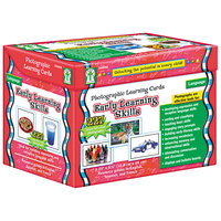 Carson Dellosa D44046 Early Learning Skills Photographic Learning Cards Boxed Set