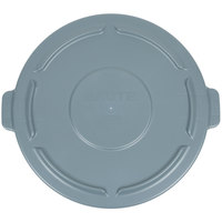 Rubbermaid FG264560GRAY BRUTE 44 Gallon Gray Trash Can Lid