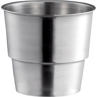 Mercer Culinary M35951 Stainless Steel Malt Cup Collar for 3 9/16 inch Cups - 4 7/16 inch Top Diameter