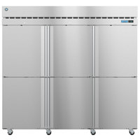 Hoshizaki F3A-HS 82 1/2 inch Half Solid Door Reach-In Freezer