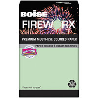Boise MP2241GN Fireworx 8 1/2 inch x 11 inch Popper-Mint Green Premium Ream of 24# Multi-Use Paper - 500 Sheets