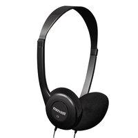 Maxell 190319 HP-100 Black Headphones
