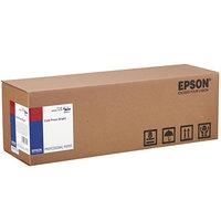 Epson S042313 Cold Press Bright 50' x 17 inch White 19 Mil Fine Art Matte Paper Roll