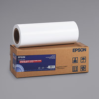 Epson S041742 100' x 16 inch Glossy White Premium Photo Paper Roll