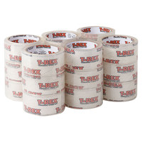 T-Rex 285724 1 7/8 inch x 35 Yards Clear Packaging Tape Roll - 18/Pack