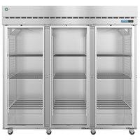 Hoshizaki R3A-FG 82 1/2 inch Glass Door Reach-In Refrigerator