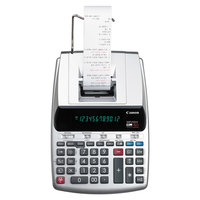 Canon 2202C001 MP25DX 12-Digit Black / Red Two-Color Printing Calculator - 4.3 Lines per Second