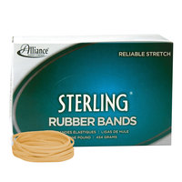 Alliance 24335 Sterling 3 1/2 inch x 1/8 inch Crepe #33 Rubber Bands, 12 lb. - 850/Box