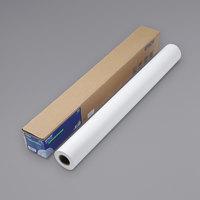 Epson S041386 82' x 36 inch White 8.3 Mil Non-Glare Matte Surface Paper Roll