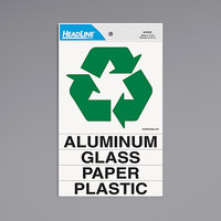 Headline Sign 4459 Self-Stick Recycle Decal Kit