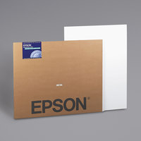 Epson S041599 30 inch x 40 inch White Enhanced Matte Wide Format Inkjet Posterboard - 5/Pack
