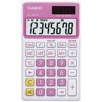 Casio SL300VCPK 8-Digit LCD Pink Handheld Calculator
