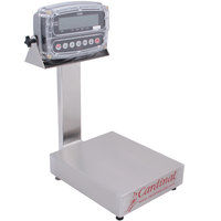 Cardinal Detecto EB-30-190 30 lb. Electronic Bench Scale with 190 Indicator and Tower Display, Legal for Trade