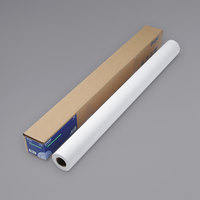 Epson S041387 82' x 44 inch White 8 Mil Double Weight Matte Paper Roll
