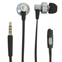Case Logic CLSTHD400 400 Series Black / Silver Earbuds with Microphone