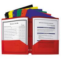C-Line 33930 Two-Pocket Heavyweight Polypropylene Portfolio Folder