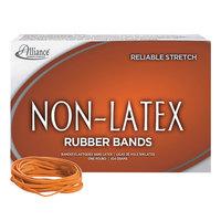 Alliance 37336 3 1/2 inch x 1/8 inch Orange Non-Latex #33 Rubber Bands, 12 lb. - 720/Box